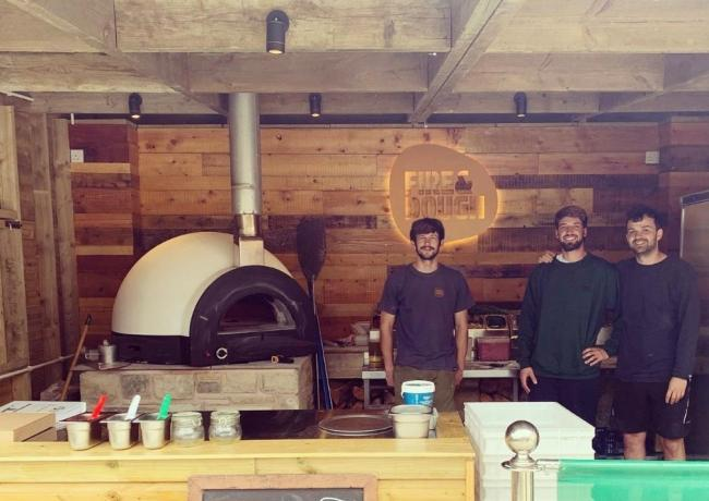 The Twice Brewed Inn is launching a partnership with Northumberland wood-fired pizza experts, Fire & Dough.