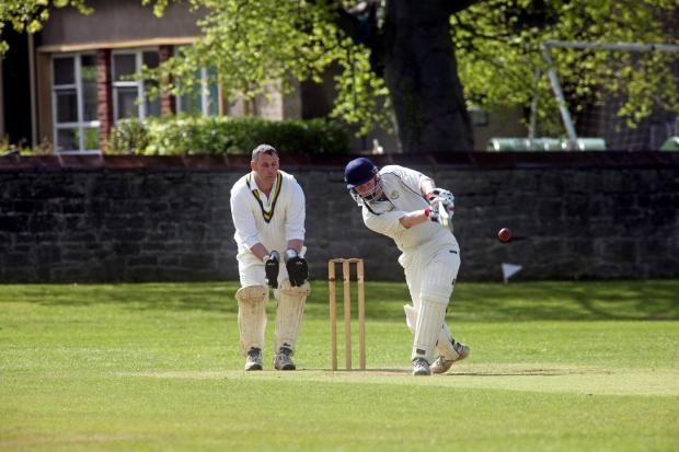 Adrian Marrison hit 94 runs in the victory over Whickham.