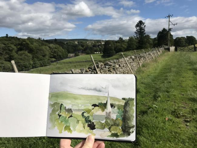 Release into the Landscape, starts in Alston, this week