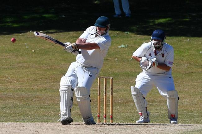 Ian Watson impressed with bat and ball for Haydon Bridge against Belsay.