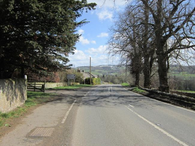 The B6318 road where campaigners say many road users disregard the 40mph speed limit. Photo: Ian S.