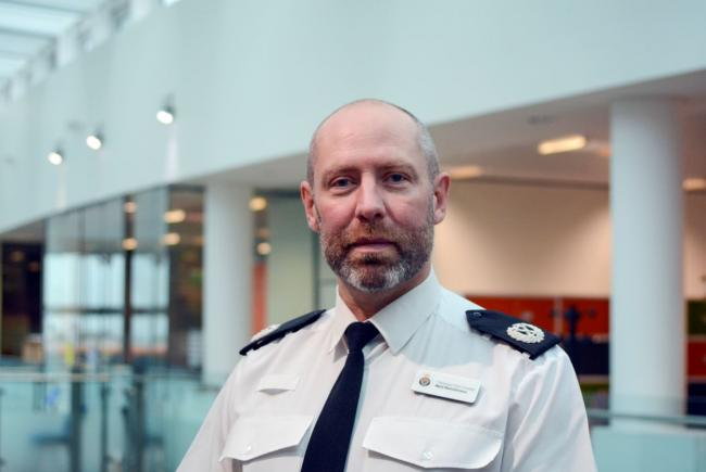 Neil Hutchison, Northumbria Police assistant chief constable.