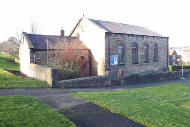 The Ebenezer Methodist Chapel, in West Wylam, has been listed for sale. Photo: RIGHTMOVE