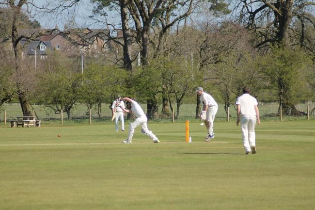 Haltwhistle and Humshaugh in action last weekend.