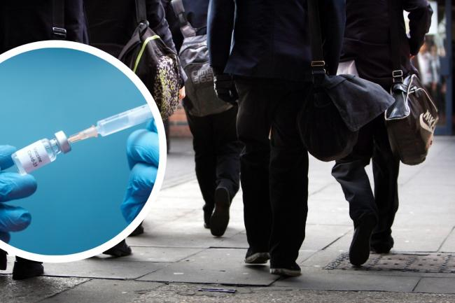 School pupils to be offered the vaccine from September. Picture: PA/Canva