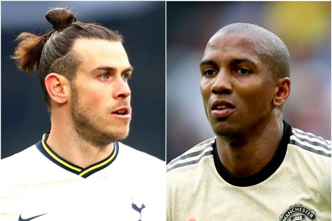 Gareth Bale and Ashley Young