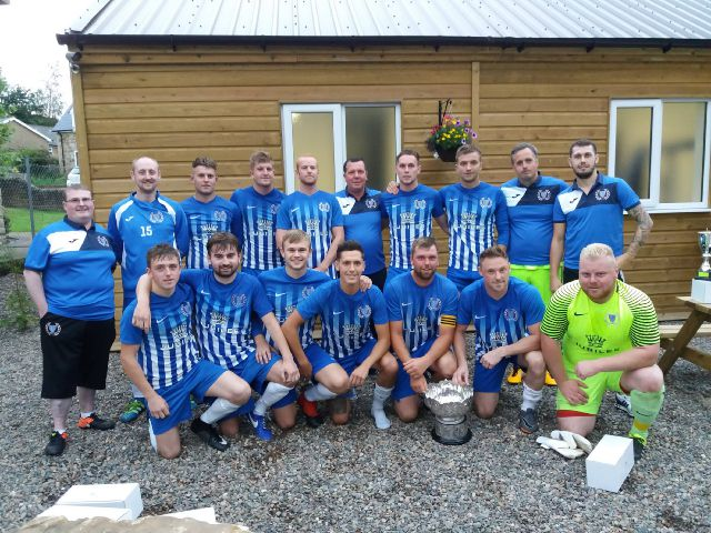 Haltwhistle Jubilee won the Clayton Cup on penalties, following a 0-0 draw with Ponteland.