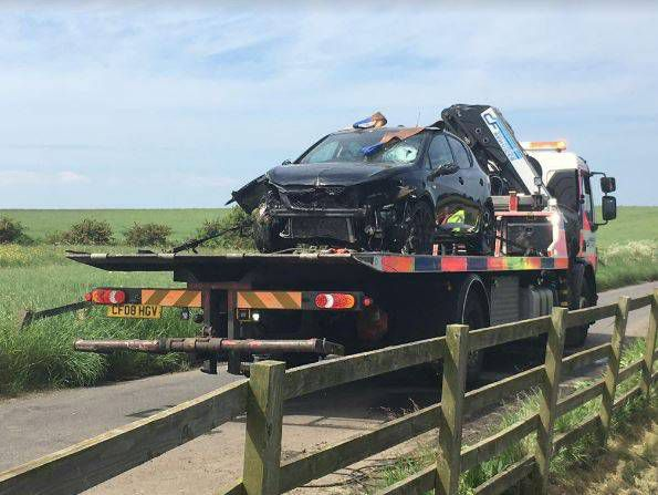 A car was pulled from Whittle Dene reservoir near Horsley and a man's body was recovered. Photo: Newcastle Chronicle