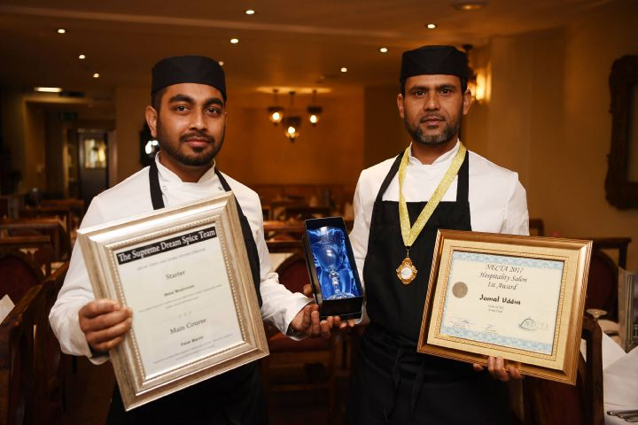 Chefs Shakil Ahmed and Jamal Uddin.