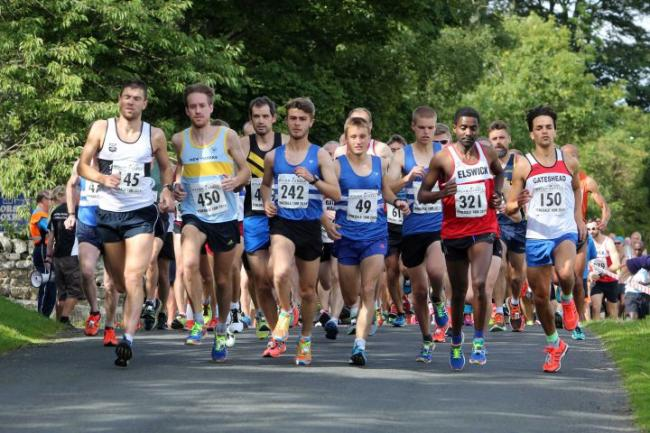 Runners tackle extra distance in name of jelly | Hexham Courant