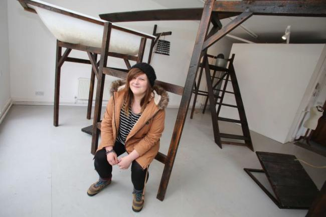 Artist draws on her childhood memories hexham courant