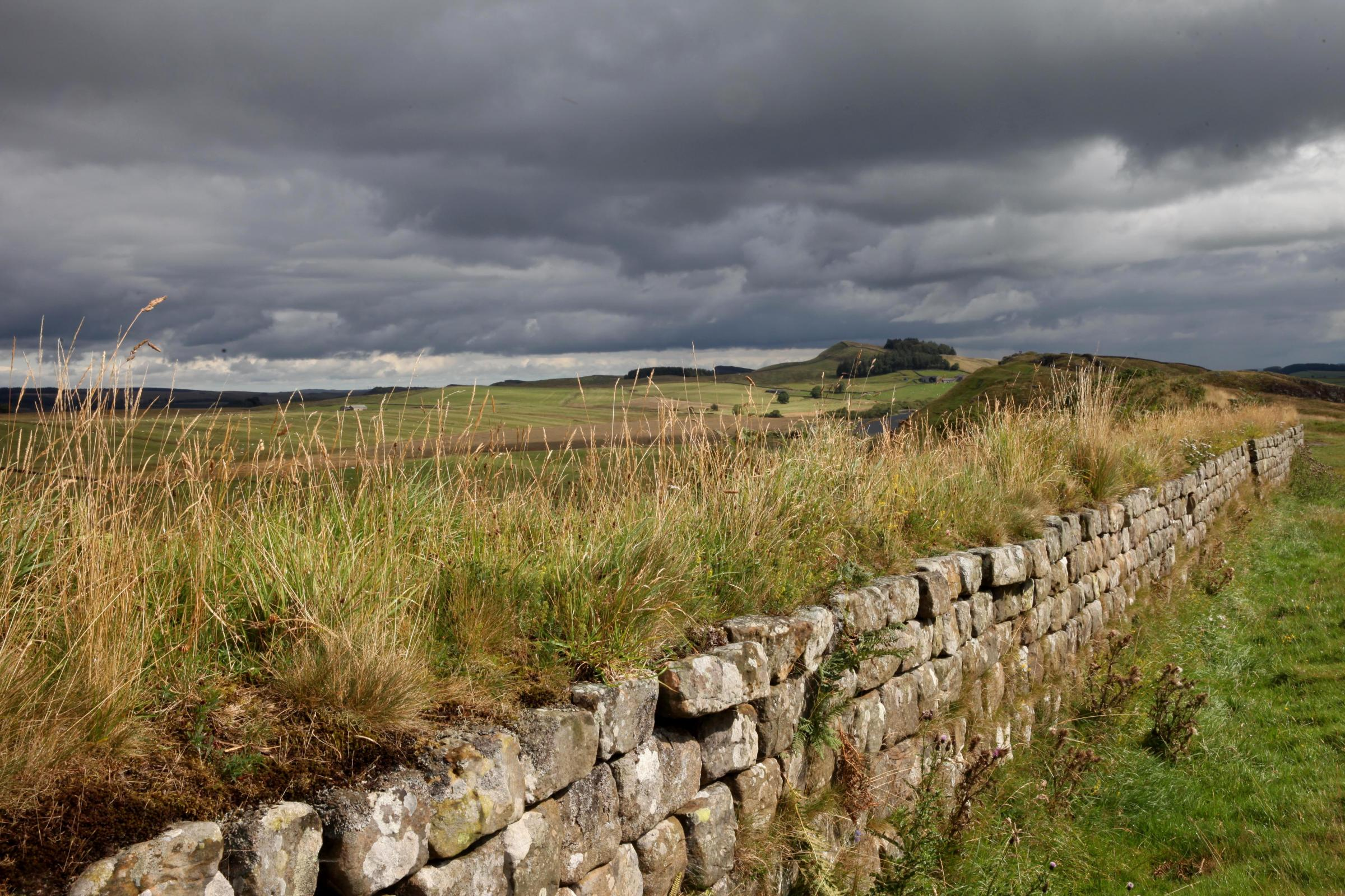Lottery money will be spent on protecting Hadrian's Wall for future generations. Photo: K371514.