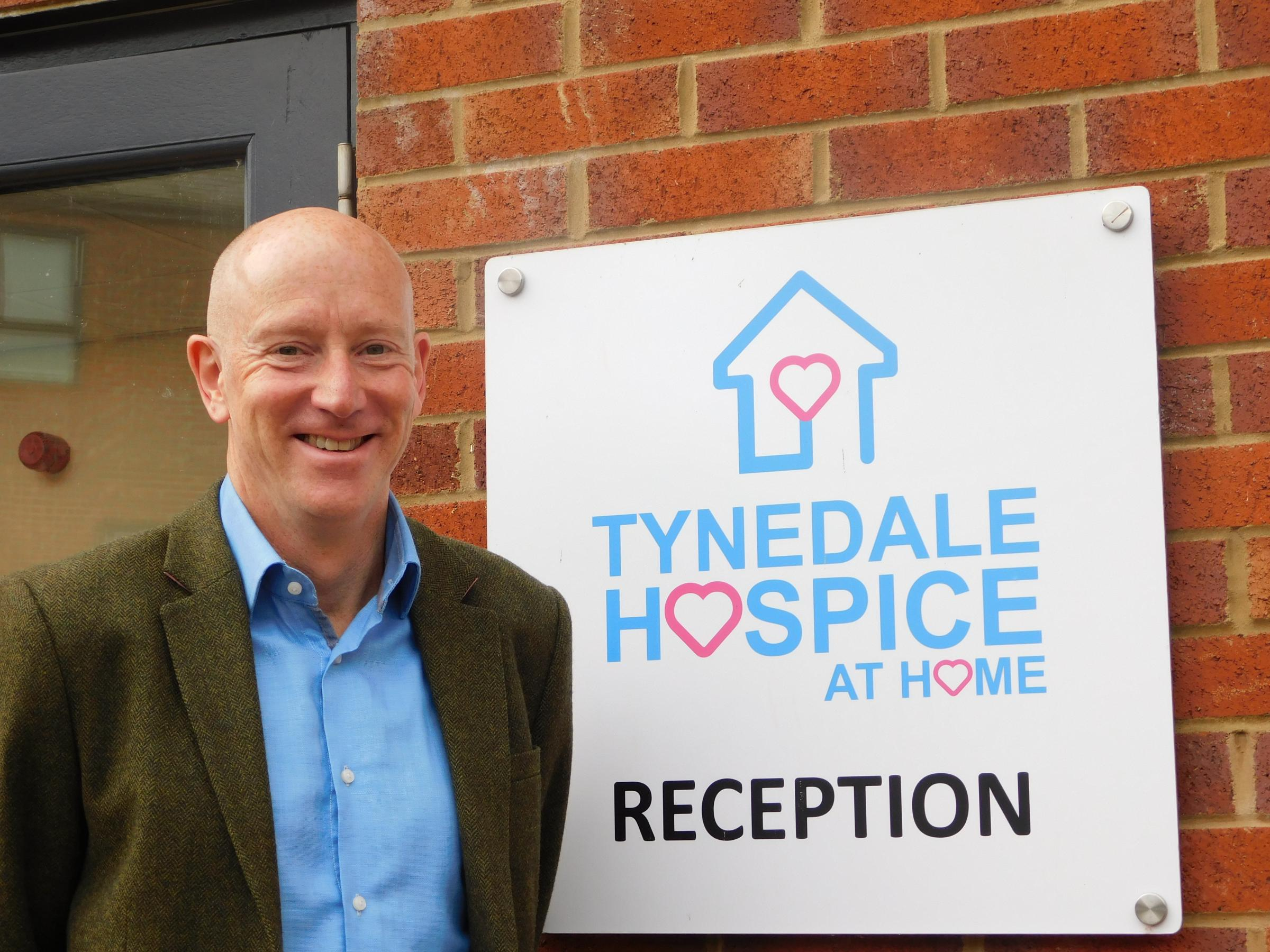 Tynedale Hospice's new chief executive Mike Thornicroft.