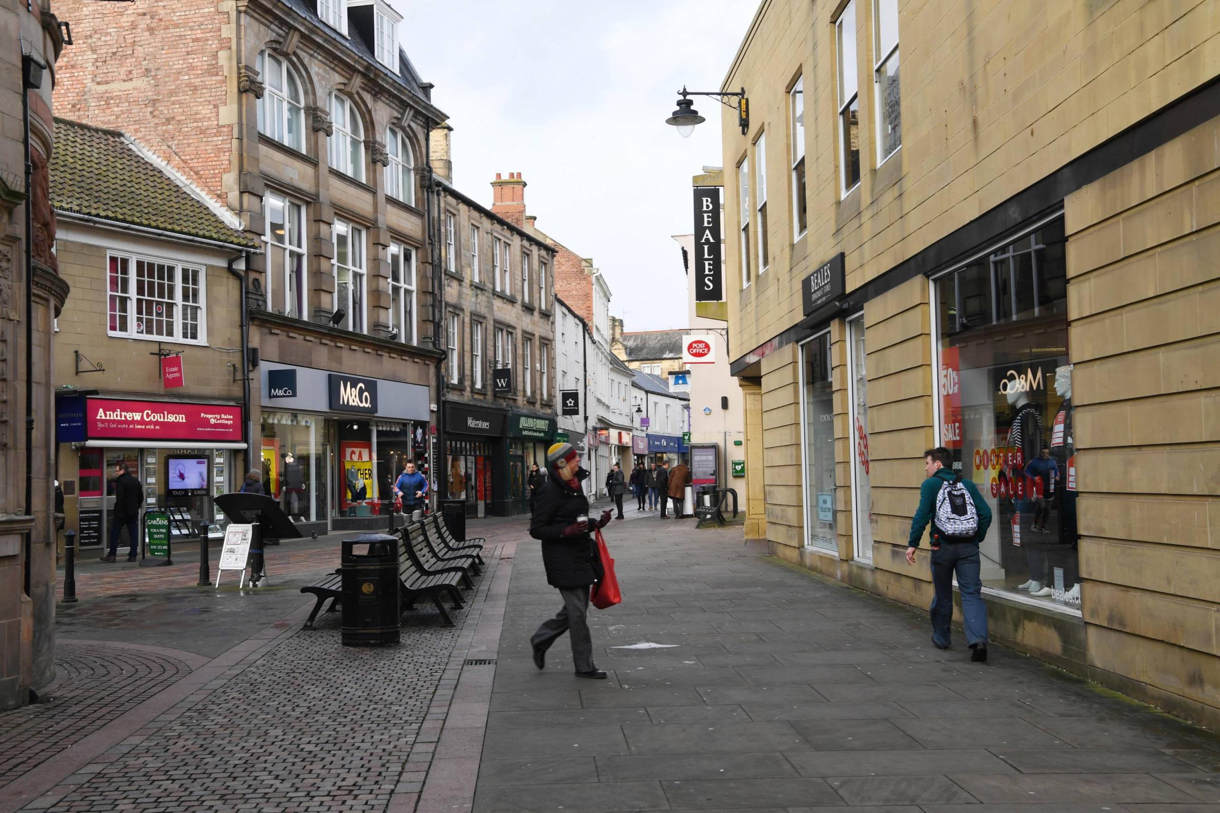 Small retailers have been helped by a reduction in business rates.
