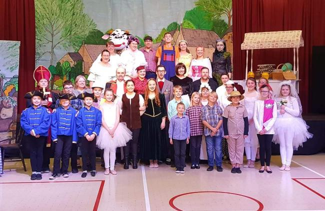 Prudhoe's Dragon Tale Theatre Group perform Jack and the Beanstalk