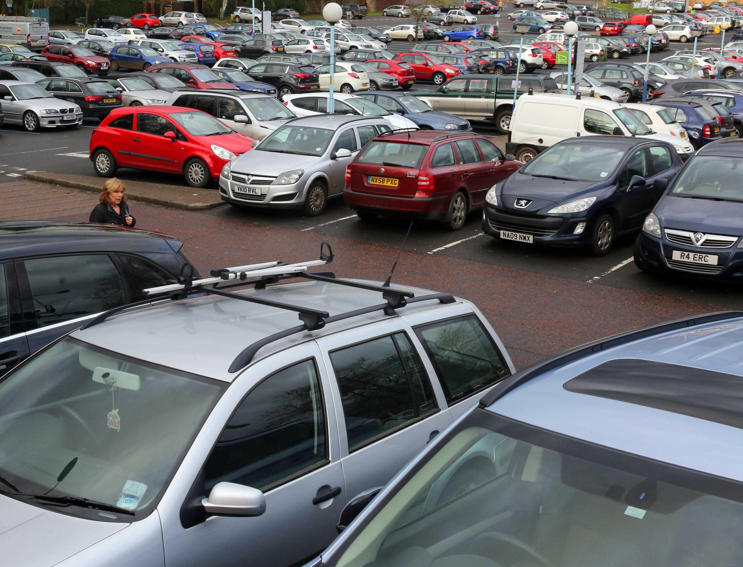 Wentworth car park, in Hexham, is a hotspot for car parking fines.