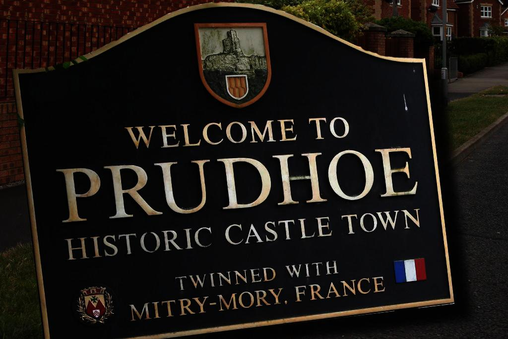 Prudhoe Sign. Photo: D311492