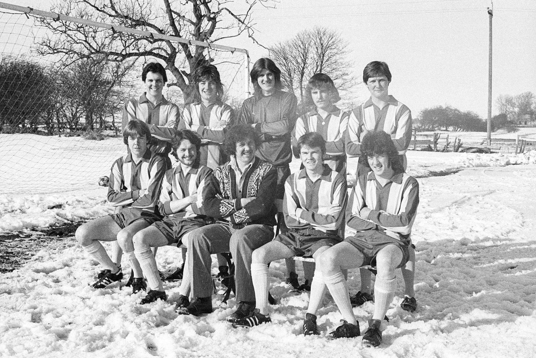 Snow didn't stop play for Matfen Rovers on this day back in 1979 - but winter postponements are a general source of frustration for teams.