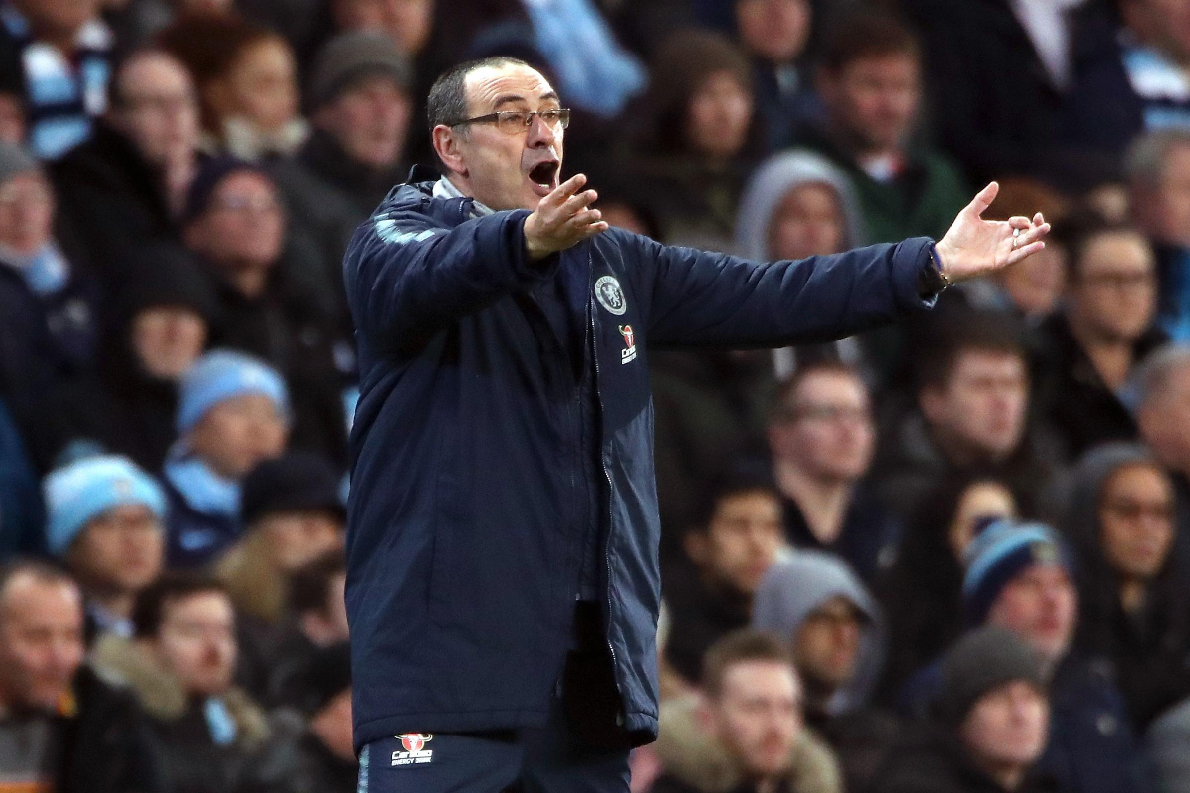Maurizio Sarri accepts there is always a risk he might lose his job at Chelsea