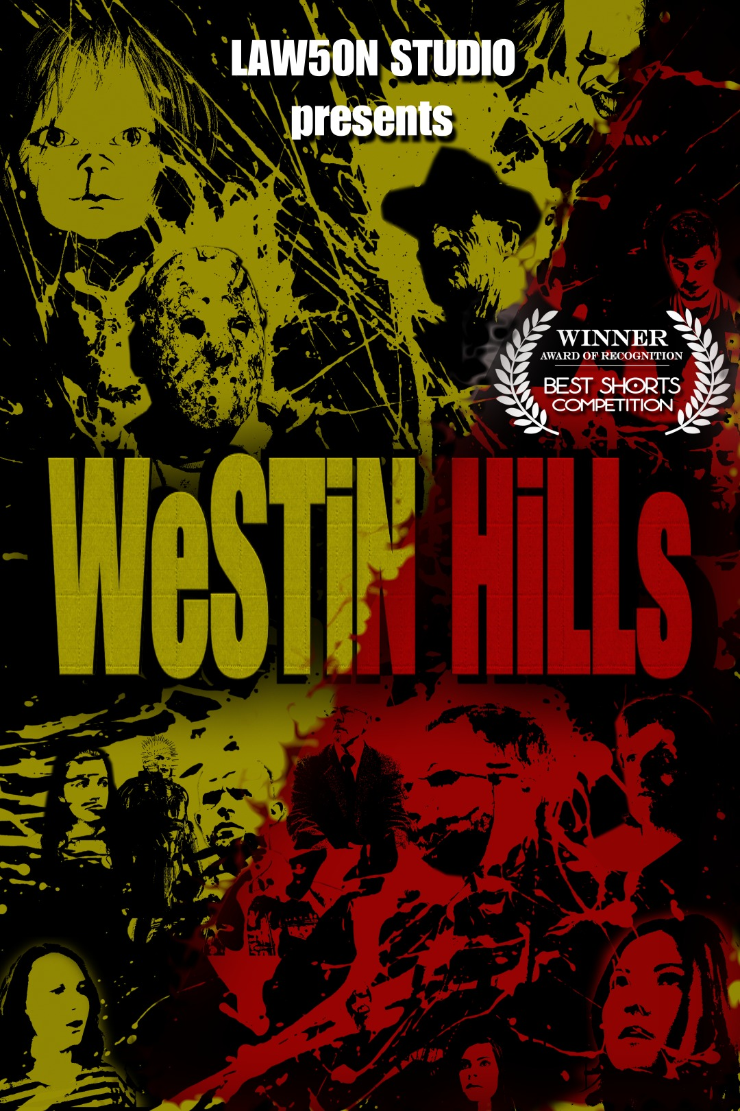 Westin Hills poster - a film by Steven J. R. Lawson, a film-maker from Prudhoe.