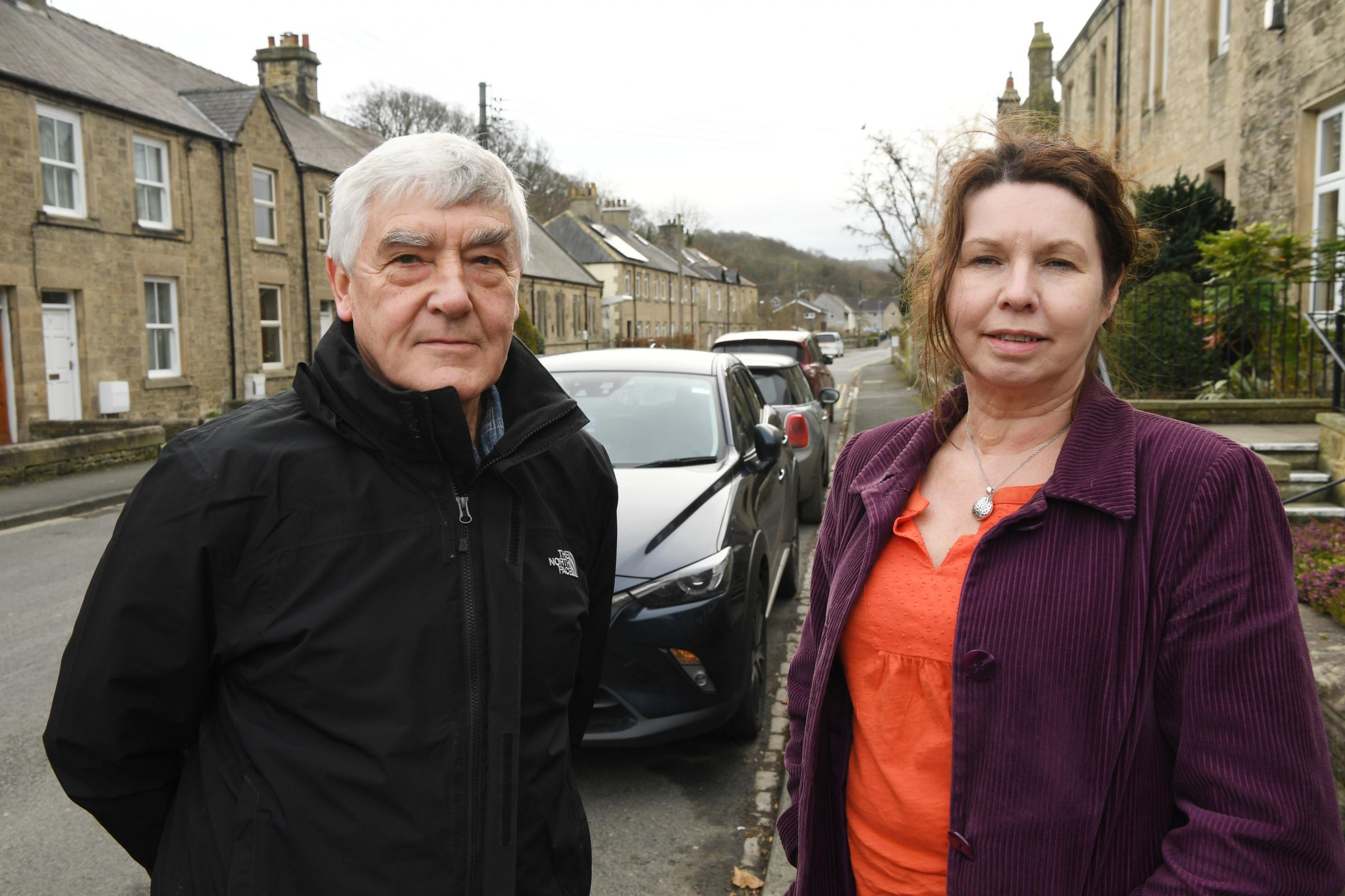 Norman Hooks and Alison Richardson, board members of SCATA, hope to launch a community transport scheme in Stocksfield. 						Photo: HX071917