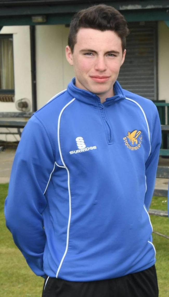 Stocksfield's Luke Doneathy is an academy player at Durham CCC.