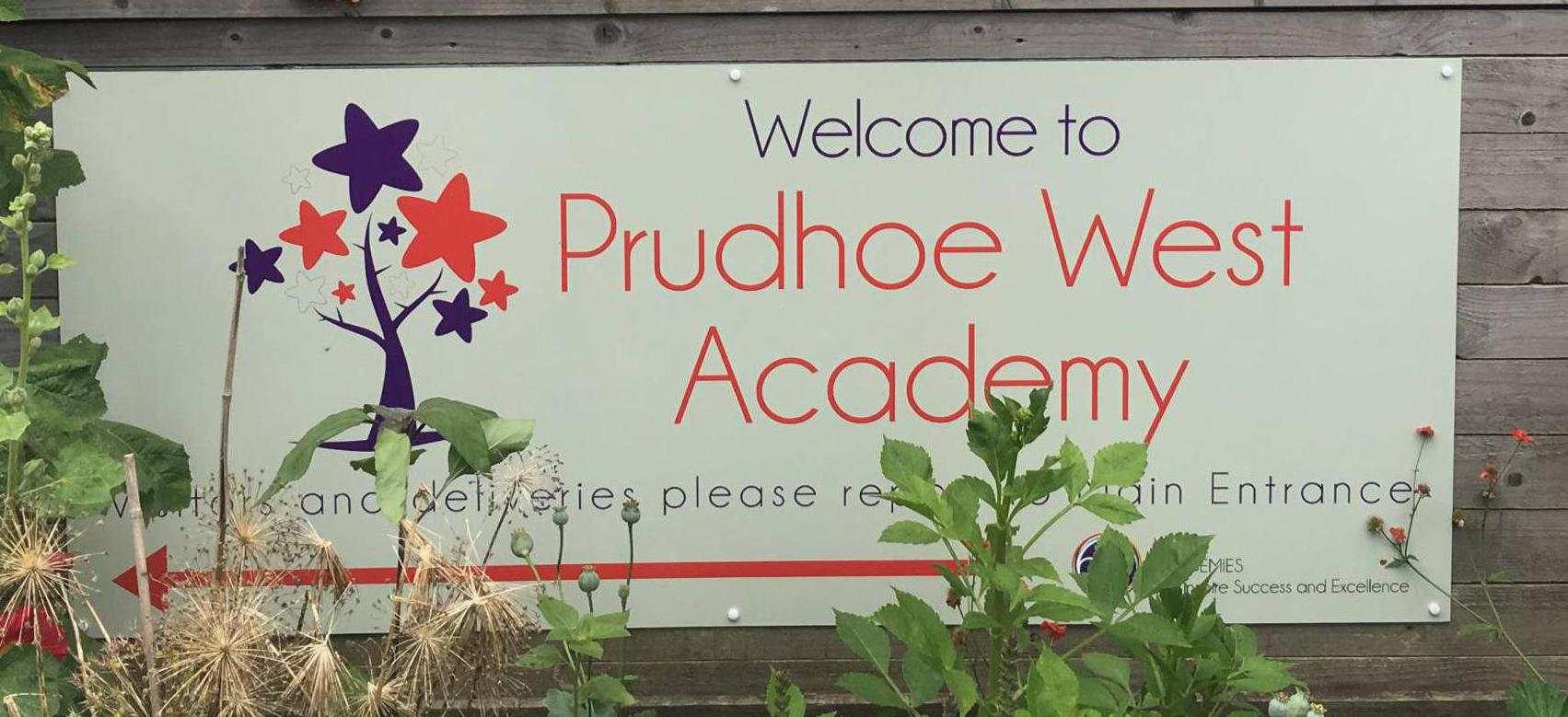 Prudhoe West First School which was targeted by thieves.