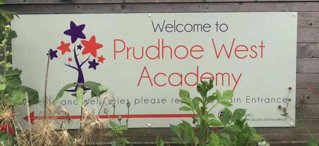 Teenager arrested after burglary at Prudhoe school