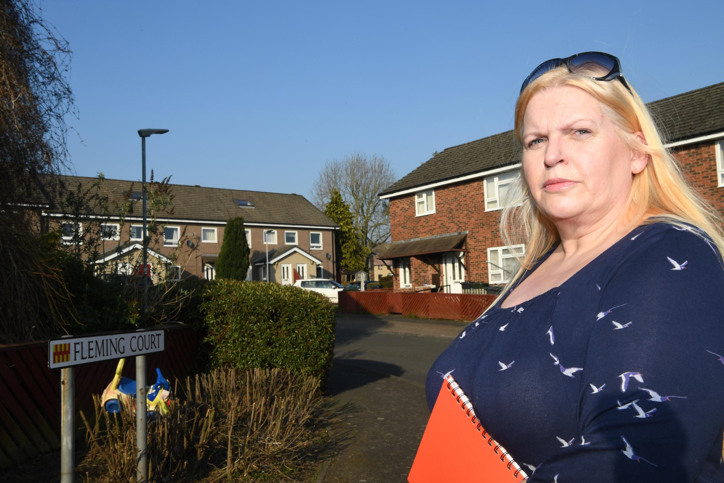 Haltwhistle town councillor Janette Kendrew has received complaints from Karbon Homes' residents. 												Photo: HX101903
