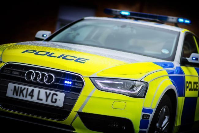 A man has been arrested in Hexham on suspicion of drink driving