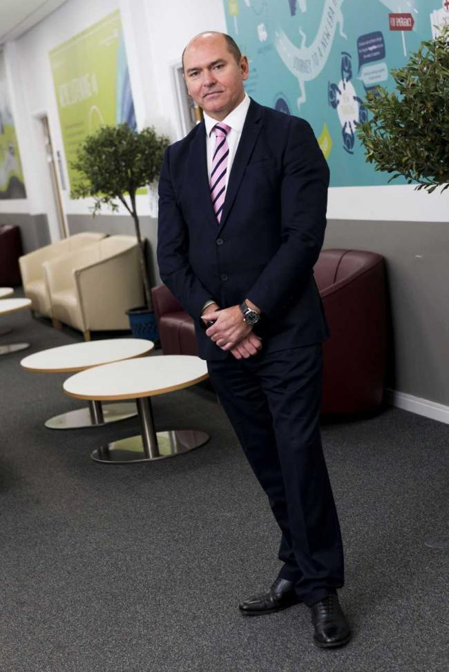 Sir James Mackey, Northumbria Healthcare's chief executive officer.