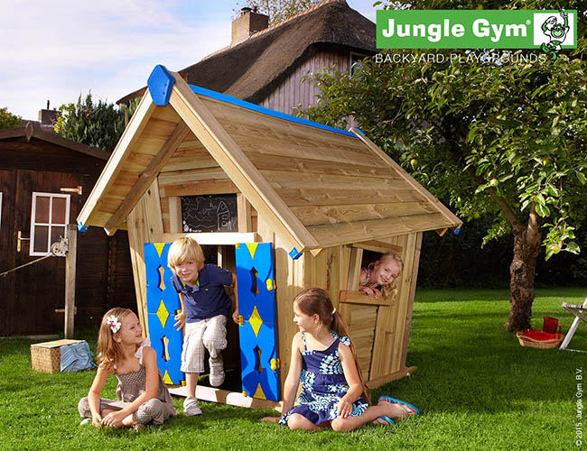 Lots of fun to be had in a Jungle Gym playhouse