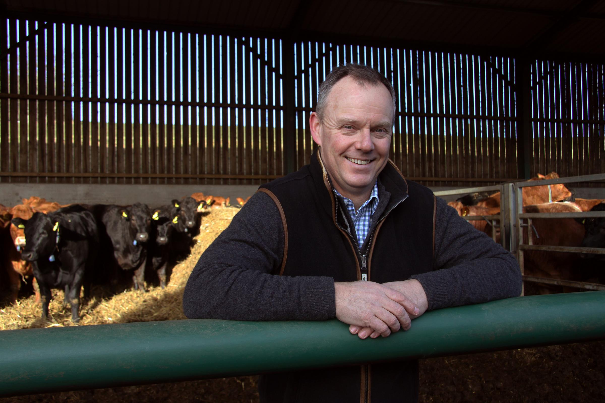 Farmer Robert Neil will select the ultimate winner at this year's Northumberland County Show