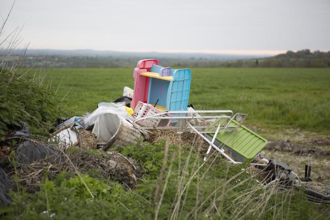 Fly-tipping on farms is on the rise in the North-East.