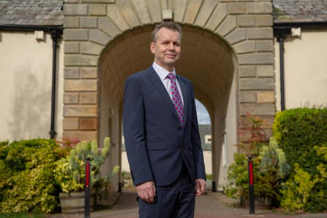 Nigel Harrett, the principal at Northumberland College, has revealed the previous state of the college.