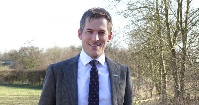 North-East director of the NFU, Adam Bedford.