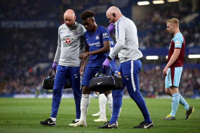 Chelsea's Callum Hudson-Odoi could require surgery to repair his ruptured Achilles tendon