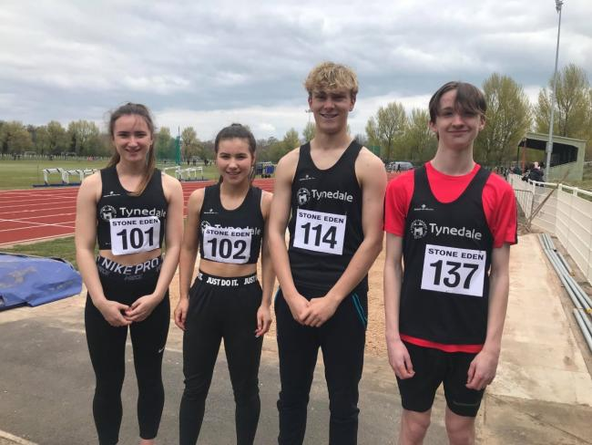 Tynedale Harriers Louise Smith, Kate Smith, Calum McGowan, and Leon Hall, enjoyed success at the Border Harriers Open, at Carlisle.