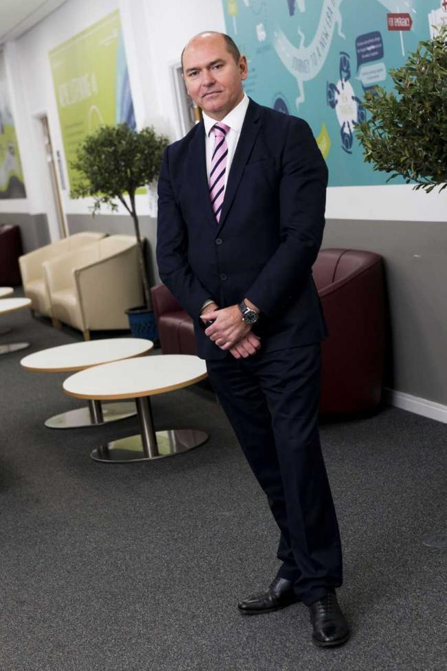 Sir Jim Mackey, the chief executive of chief executive of Northumbria Healthcare NHS Foundation Trust.