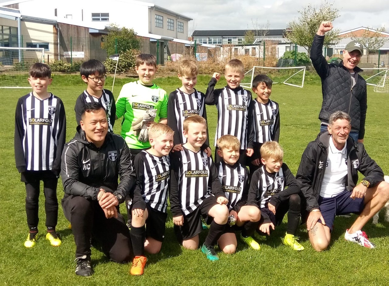 Ponteland United Rapids enjoyed their day out at the cup final, despite defeat.