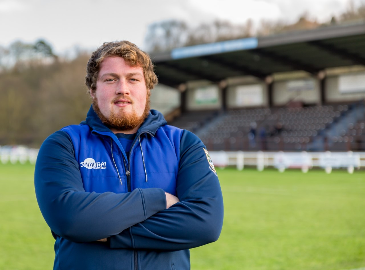 Larry Mew, new Tynedale Rugby Club community coach. Photo: JOHN AUSTIN