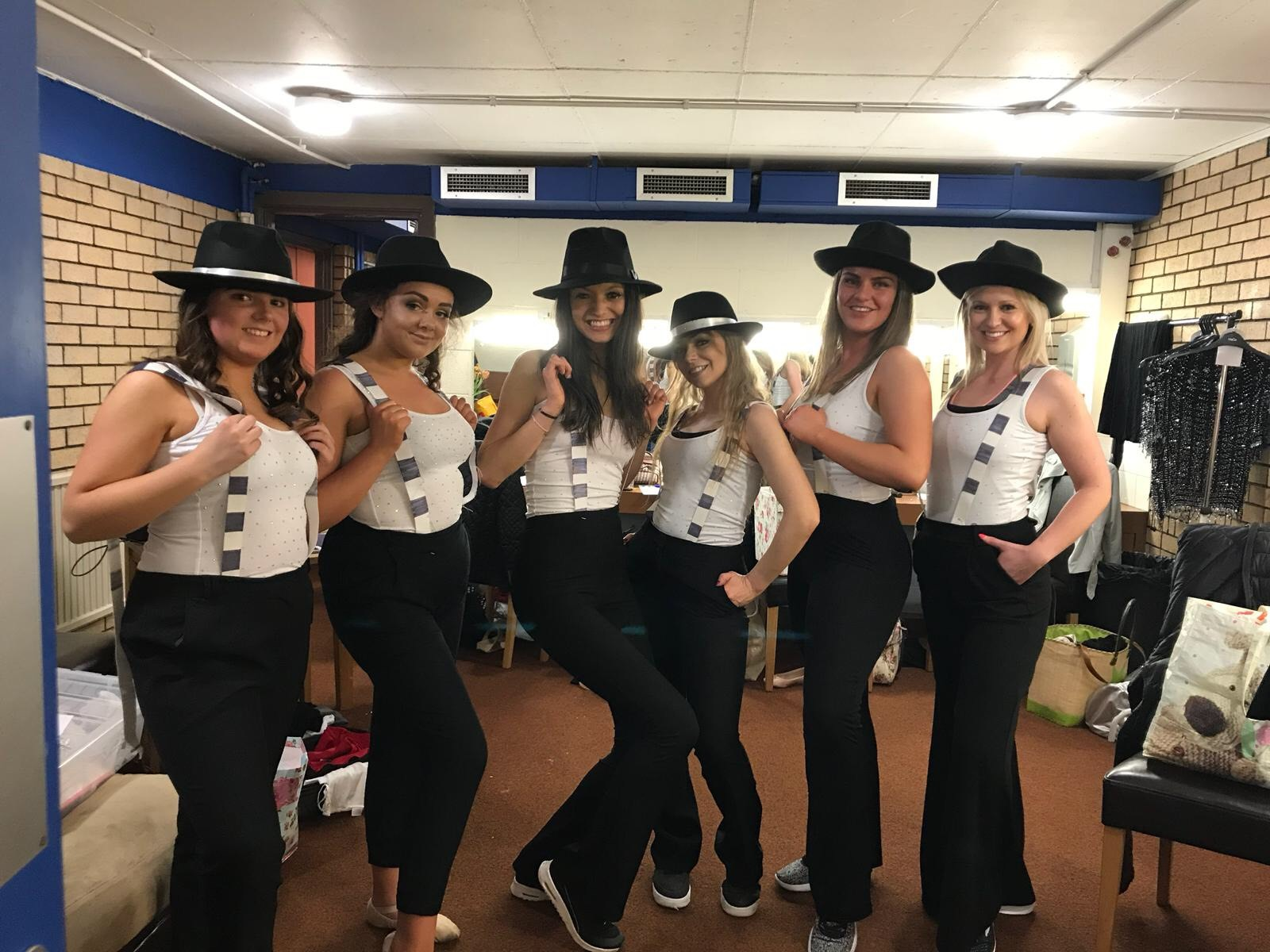 Dancers prepare for the 2018 Splitz Dance show in Hexham's Queen's Hall, with proceeds from the event going to local charity.