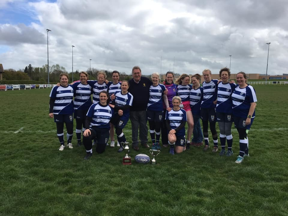 Tynedale RFC Ladies touch rugby team won the Thornton Hickey Winter League.
