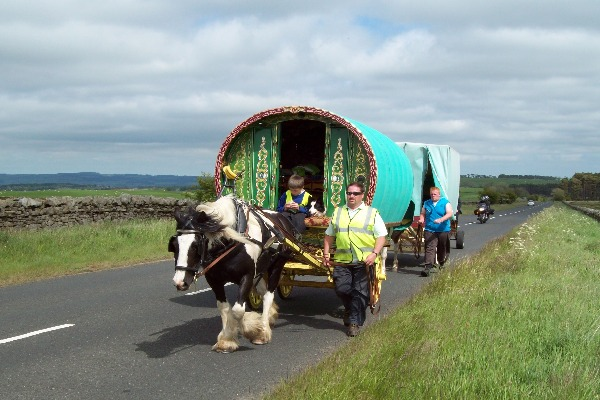 Drivers on Northumberland roads asked to take extra care in run up to Appleby Horse Fair