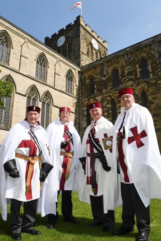 Knights Templar take over Abbey | Hexham Courant