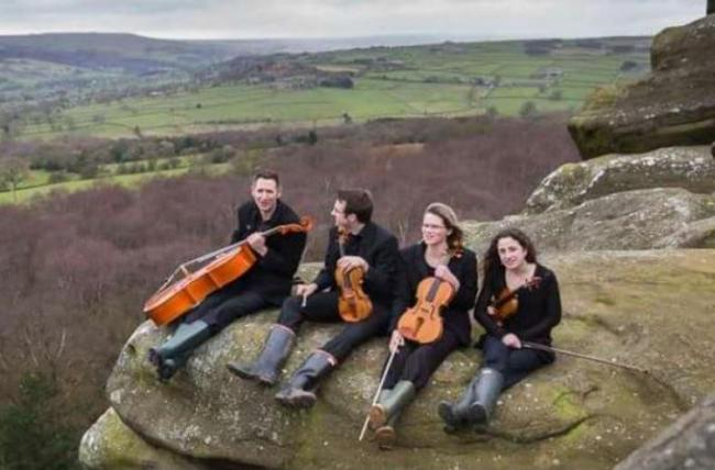 The Dales String Quartet.