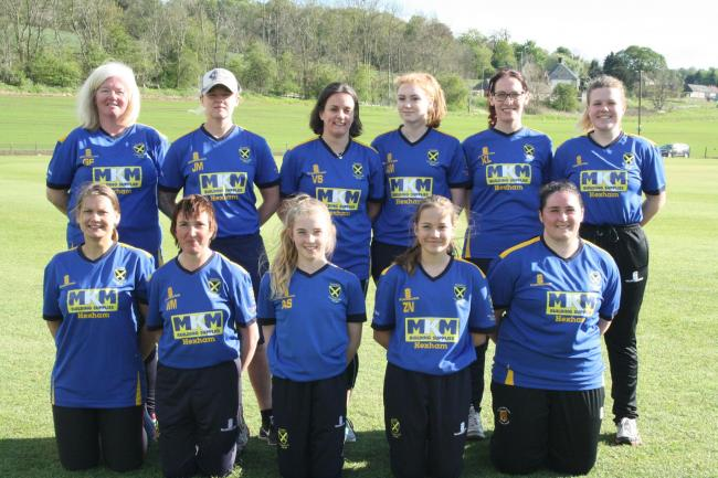 The newly-formed Tynedale Ladies cricket team.