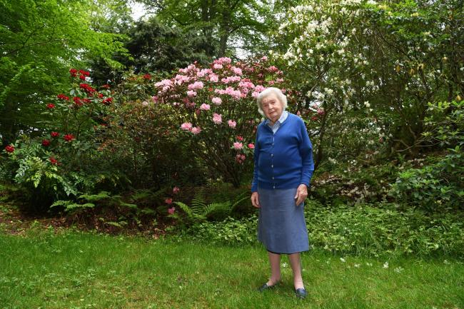 Patricia Clark (92) is continuing her long tradition of participating in the National Gardens Scheme.