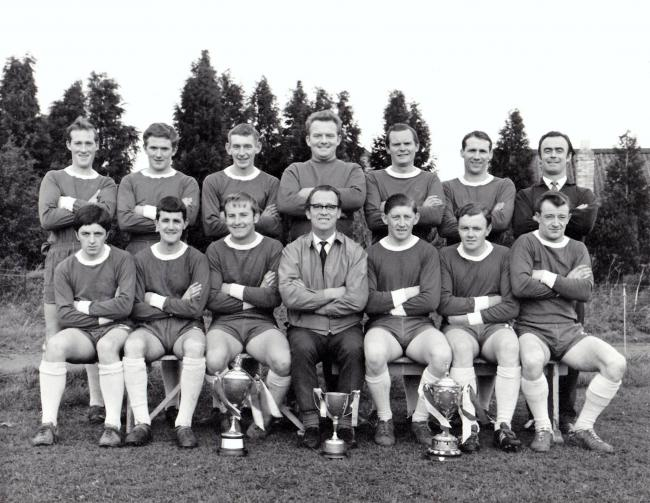 Do you recognise any faces from the Corbridge Rangers football team from 1967? 												            Photo: CORBRIDGE OF YESTERDAY